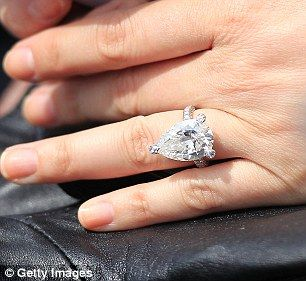 137 best Celebrity Engagement Rings images on Pinterest ...