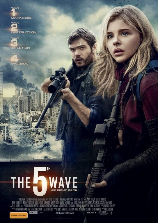 The Fifth Wave. Some way cool parts. Really liked the main character. It was a good movie with some boring parts as well.