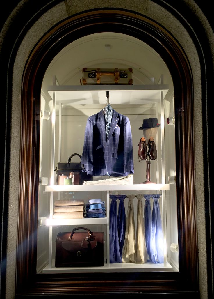 Hackett, London // The Essentials in collaboration with Harlequin Design // February 2015