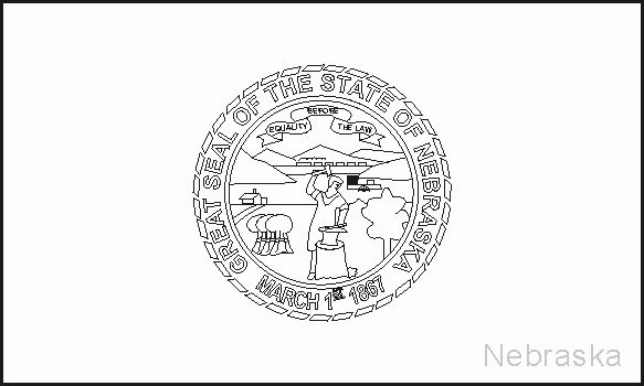 Montana State Flag Coloring Page Di 2020