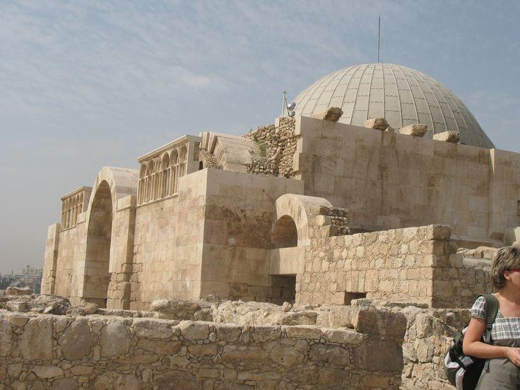Jordan,The Ummayad Palace po ichniemu Jabal al-Qal'a