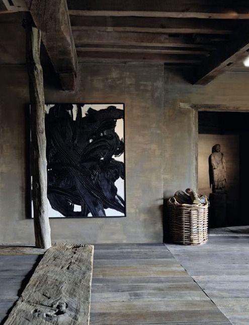 Wabi sabi interior by Axel Vervoordt.