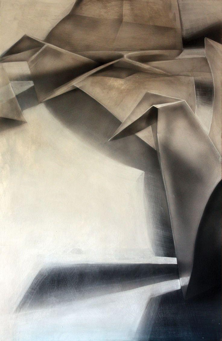"""""""Żurawie"""" cykl 2/5, technika mieszana na płycie. #art #painting #paper #crane"""