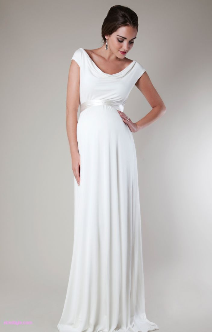 Best Maternity Wedding Dress For Pregnant Bride Http Www Ntvstyle
