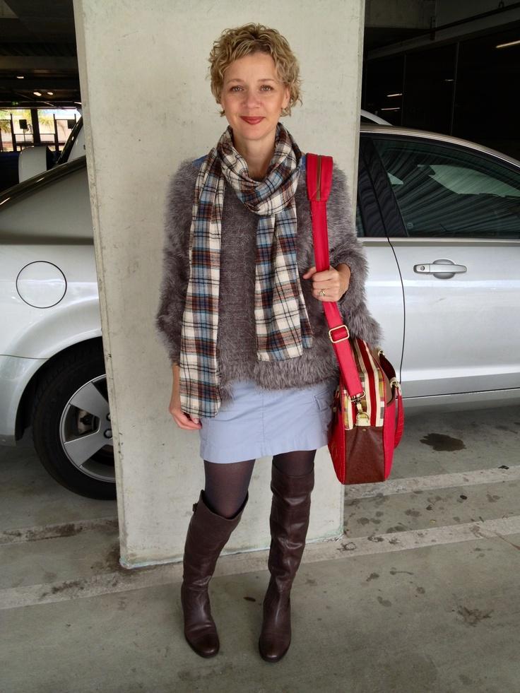 Long slouch boots.  www.definedimage.com.au