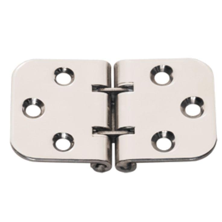 Whitecap Flush Mount 2-Pin Hinge - 304 Stainless Steel - 2-13/16 x 1-9/16