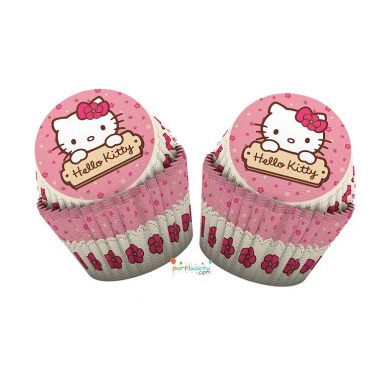 Hello Kitty Kek Kalıbı Hello Kitty Cupcake Kabı Ürün Özellikleri  Ürün Paketinde 24 Adet Hello Kitty Kek Kabı bulunur. Karton Hello Kitty Kek Kabı renkli baskı ve lisanslıdır. Pasta, Kurabiye, Kek sunumlarınız için ideal bir üründür.