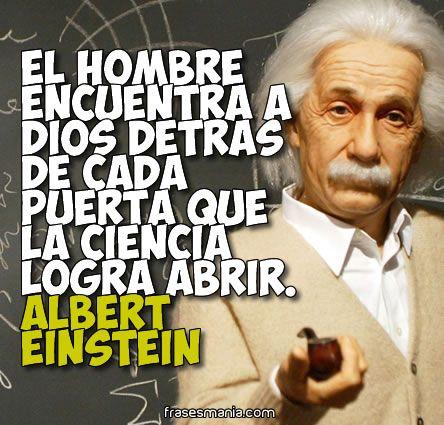 Reflexiones de Albert Einstein