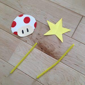 画用紙と段ボールで マリオ&ルイージコスプレ,仮装コスチュームDIY♪ 土管と帽子の作り方♪ ハロウィンに手作り衣装で仮装をしよう⑤