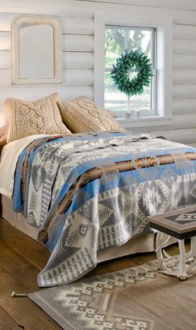 Silver Bark Blanket Pendleton Beds Pendleton Blankets