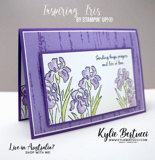Kylie S Demonstrator Training Blog Hop November 2019 In 2020 Stampin Up Sympathy Cards Stampin Up Cards Flower Cards