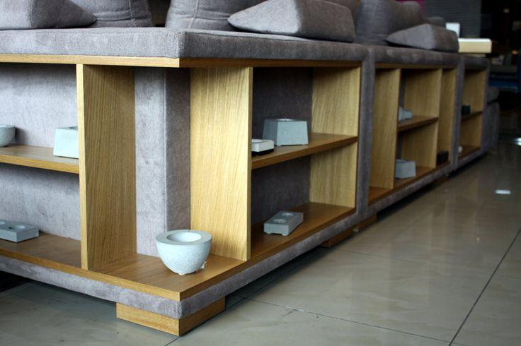 Narożnik z półką, narożniki z półkami - Comfort
