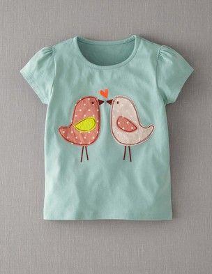 Patchwork Appliqué T-shirt
