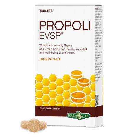 e-orthoshop.com | ERBA | Propoli EVSP Liquorice Tablets 30 tablets ΓΕΥΣΗ ΓΛΥΚΥΡΙΖΑΣ