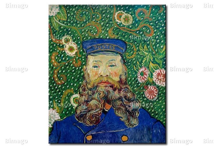Portrait of Joseph Roulin - Van Gogh, canvas art