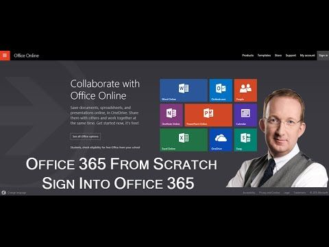 *Office 365 from Scratch - Sign in to Office 365* In this demo in the Office 365 from Scratch series Peter Kalmström shows how to sign in to Office 365. Also refer to http://kalmstrom.com/Tips/Office-365-Course/Signing-into-Office-365.htm