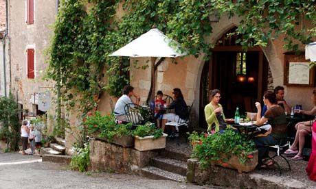 Image result for sidewalk cafe french village