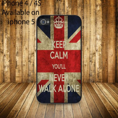 liverpool keep calm you'll never walk alone liverpool iphone case 4 iphone 5case