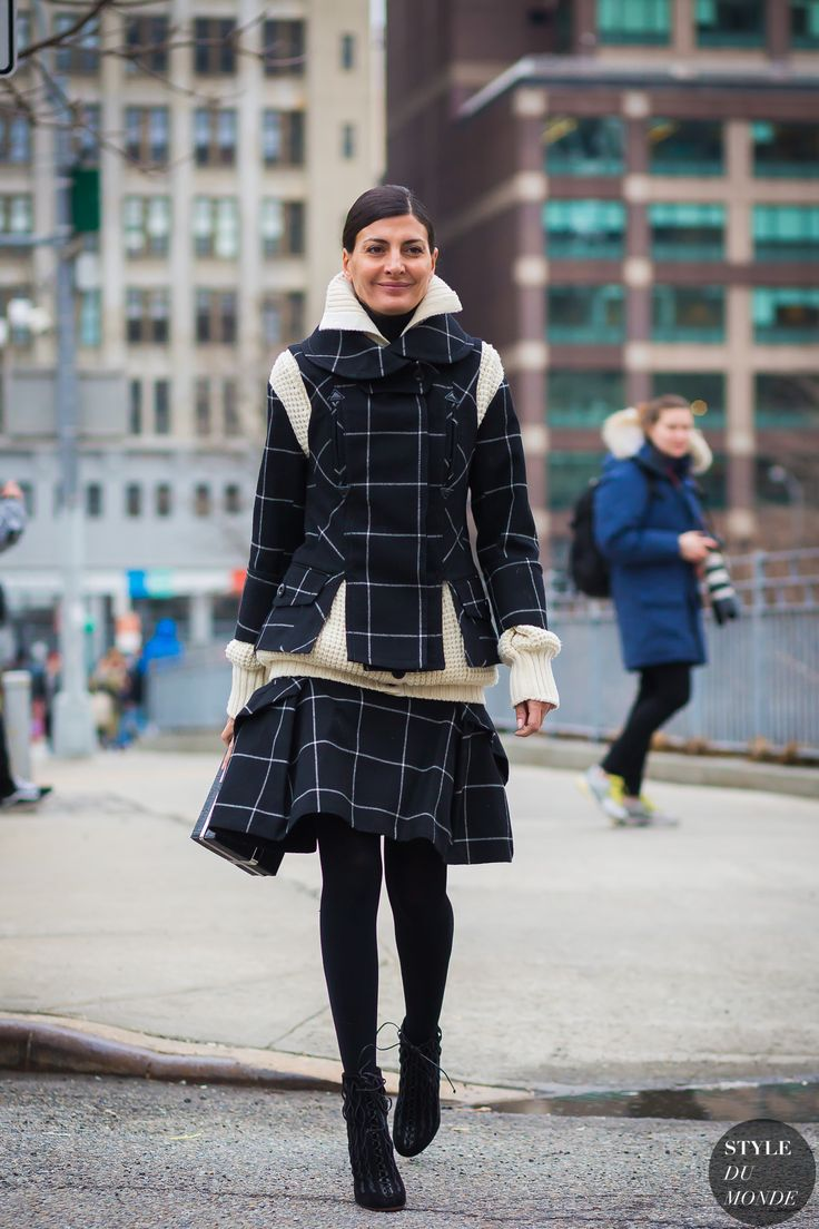 New York Fashion Week FW 2016 Street Style: Giovanna Engelbert