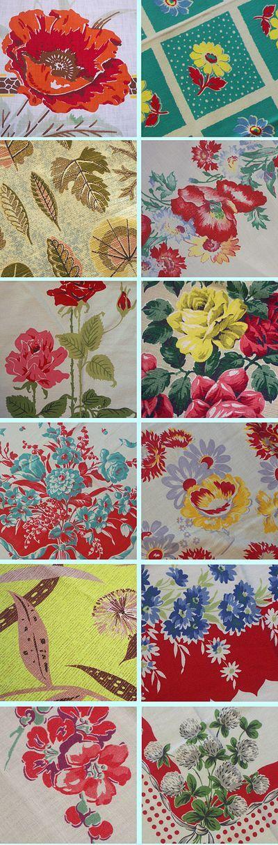 More vintage patterns...