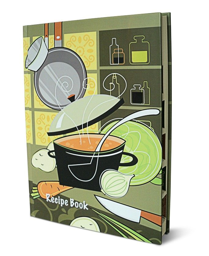 Cooking Tips Books - Recipe book in standard size for the note down of your specialized recipe from starters, main course and desserts. Buy nightingale journals online in best make.