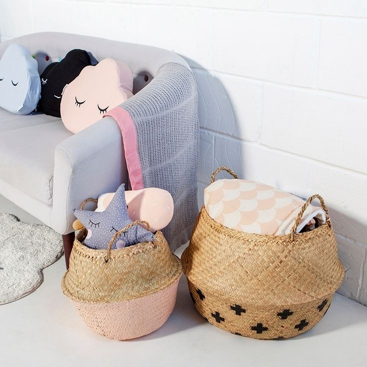 ▲LIVE BEAUTIFUL▲ Oh Bloomingville 😍 Who knew belly baskets could be so CUTE?! Don't miss the full range online now, including pastel wall hooks, hot air balloon lanterns and adorable floor mats ❤️ We feel a shopping spree coming on… ∙ ∙ ∙ ∙ #interiordesign #interior #interiors #interiordecor #interiordesigner #interiorstyling #interior4all #decor #homedecor #pasteldecor #pastelinterior #bellybasket #storage #basketstorage #babyblanket #floorcushion #cloudcushion #cloudmat #stylishstorage…