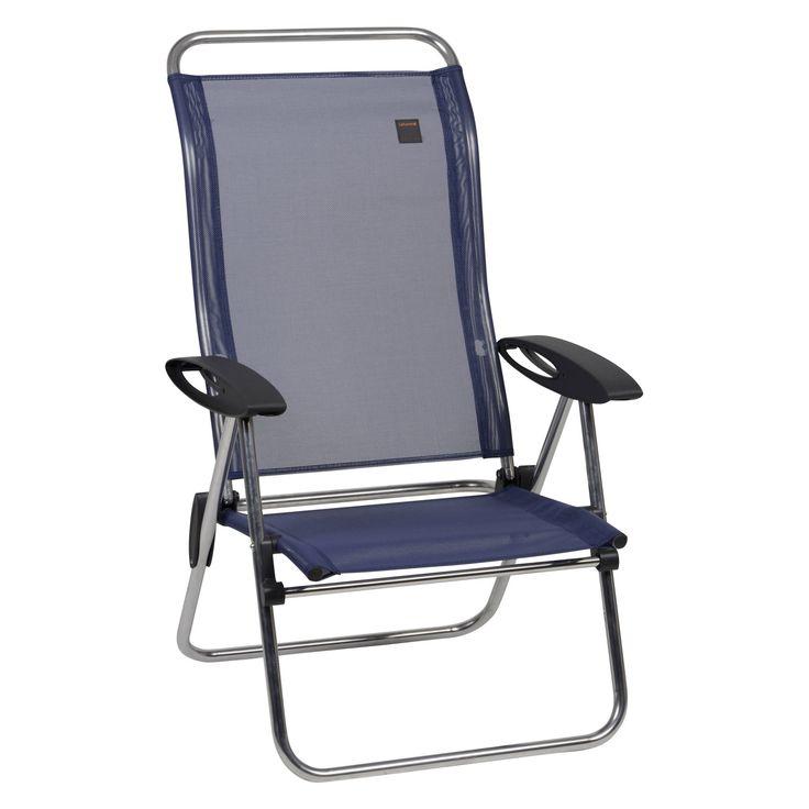Outdoor Lafuma Batyline Low Elips Aluminum Folding Beach Chair - Set of 4 - LFM2337-2178