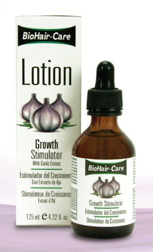 awesome Bio Hair Care Lotion Growth Stimulator with Garlic Extract