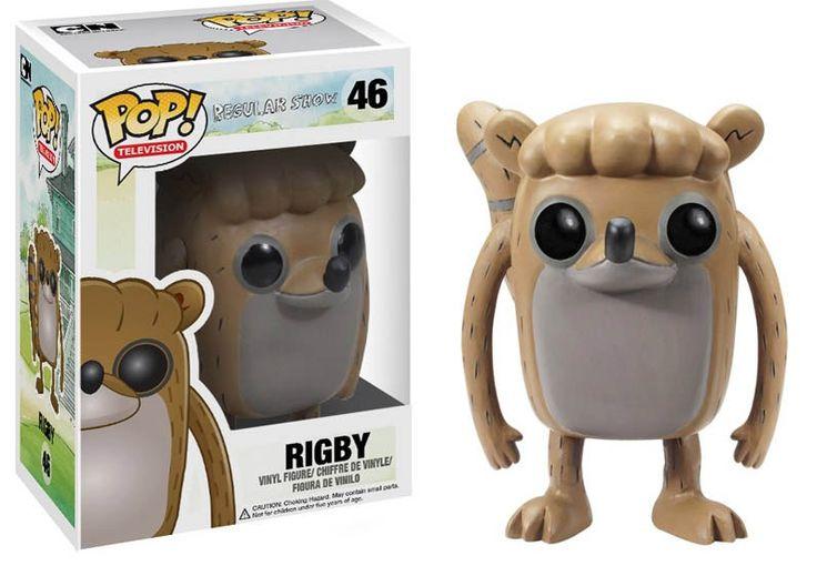 Cabezón Rigby 10 cm. Regular Show. Línea POP! Televisión. Funko Estupendo cabezón de Rigby de 10 cm, de la línea POP! Televisión, fabricado en material de vinilo y por supuesto 100% oficial y licenciado. Perfecto para regalar a cualquier fan.