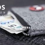 ASOS Melton Zip Wallet