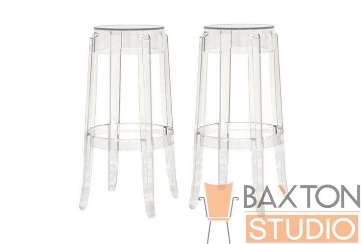 Ghost Stool - Bettino Clear Acrylic Bar Height Bar Stool | Chicago Furniture