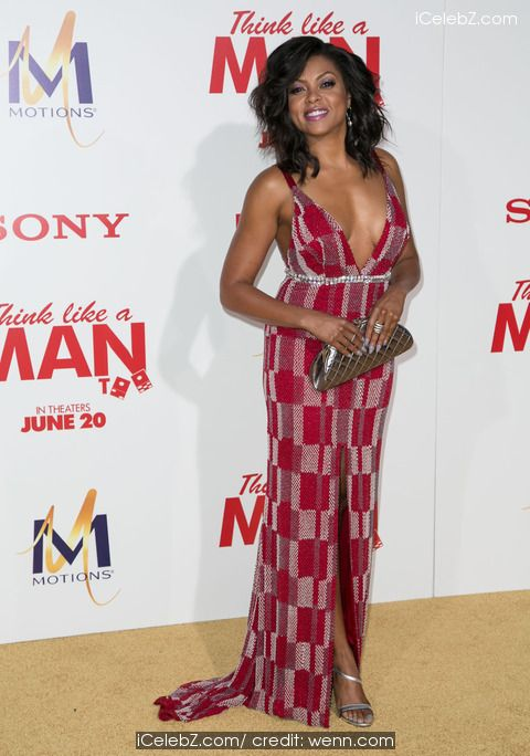 Taraji P. Henson LA Premier of 'Think Like A Man Too' at the TCL Chinese Theater in Hollywood http://icelebz.com/events/la_premier_of_think_like_a_man_too_at_the_tcl_chinese_theater_in_hollywood/photo32.html