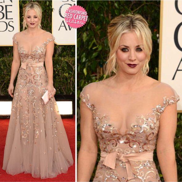 Golden Globe 2013: Kaley Cuoco