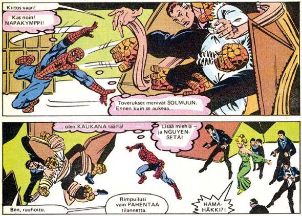 Hämähäkkimies - Vuosikerta 1984. #egmont #sarjakuva #sarjis #näköispainos