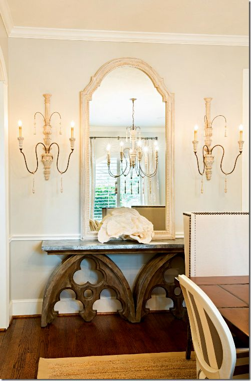 Amanda Carol Interiors Emerald Green Gold Mirrors: Home: GOTHIC REVIVAL By Magdabfrank