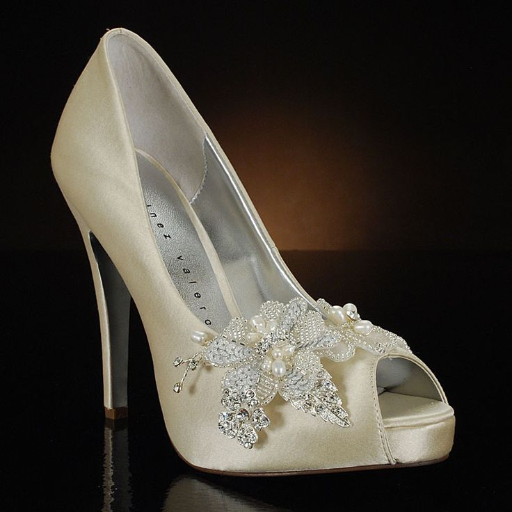 30 best Silver Wedding Shoes and Glass Slippers images on