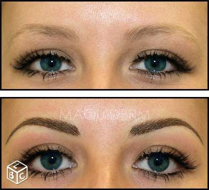 maquillage permanent sourcils - Google Search