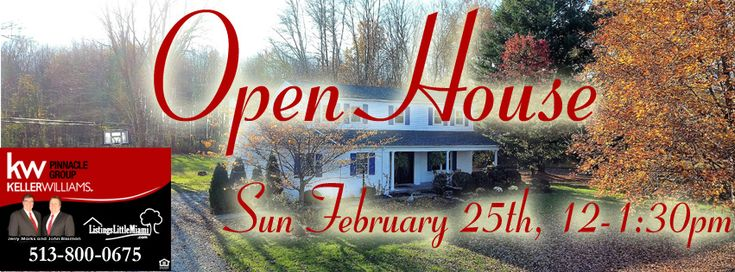 Homes for Sale Warren County-  Search for homes for sale in Warren County Ohio Open House THIS Sunday February 25th, 12-1:30pm – 8581 Whitegate Drive, Morrow, Ohio 45152 – 4 Bedroom Home on 5 Acre Wooded Lot with Privacy! Priced to Sell! http://www.listingswarrencounty.com/open-house-this-sunday-february-25th-12-130pm-8581-whitegate-drive-morrow-ohio-45152-4-bedroom-home-on-5-acre-wooded-lot-with-privacy-priced-to-sell/