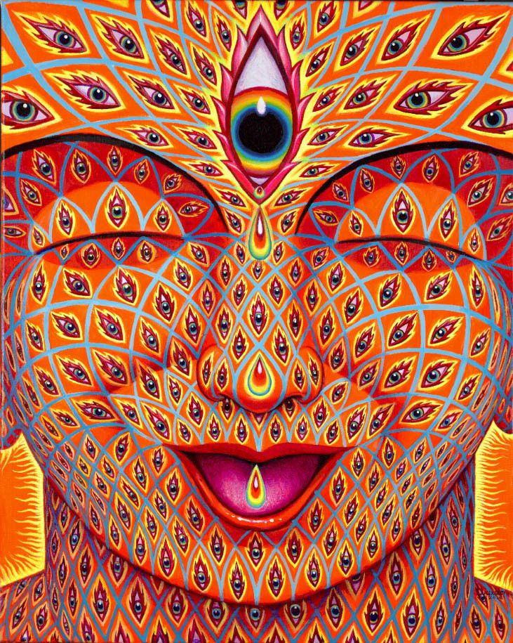 essay on alex grey