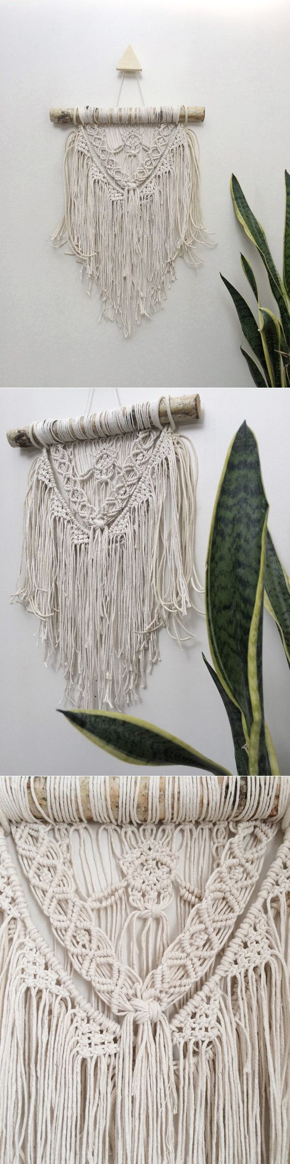 Macrame wall hanging tapestry macrame curtain от NiromaStudio