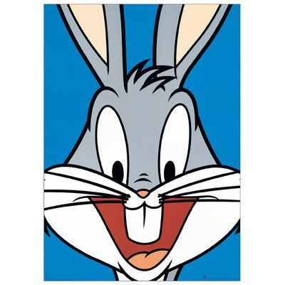 Bugs Bunny Print - check it out here @SocialSuperStr #BeSoSuper