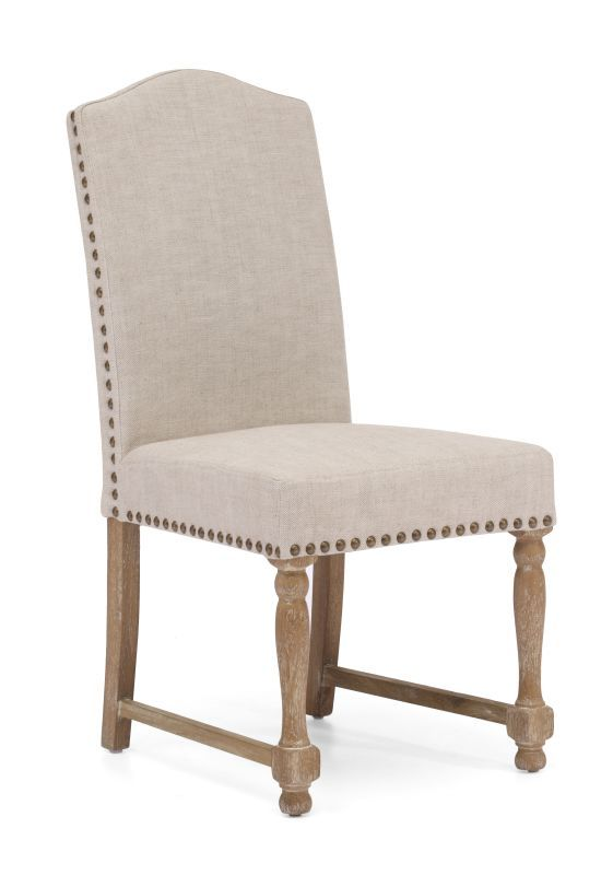 Zuo Modern Richmond Dining Chair Richmond Oak Dining Chair (Package of 2) Beige Furniture Seating Dining Chairs