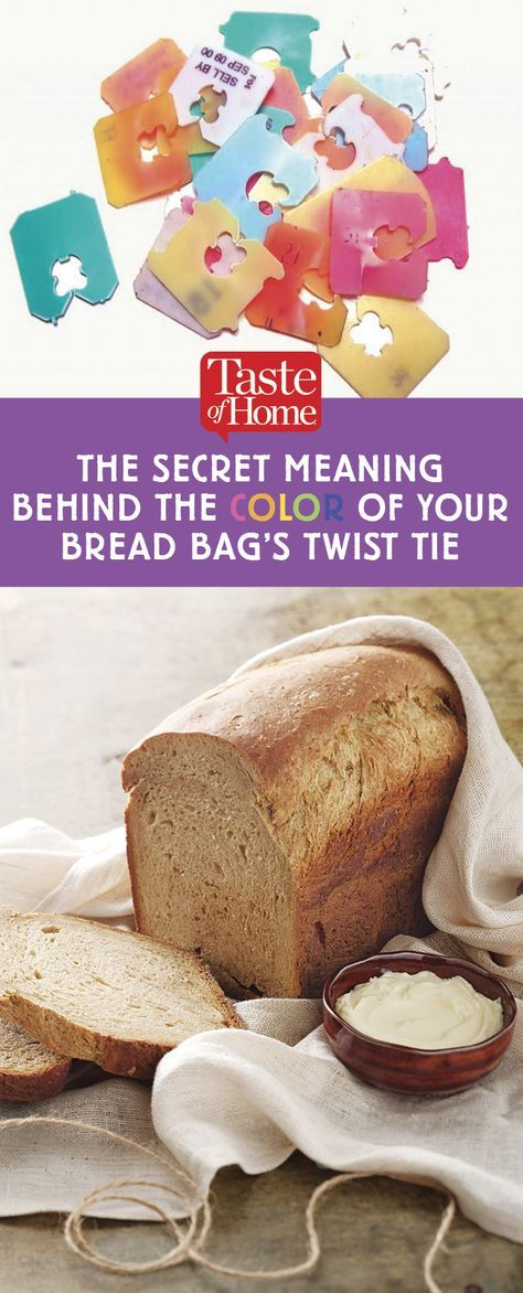 The Secret Meaning Behind the Color of Your Bread Bag's Twist Tie