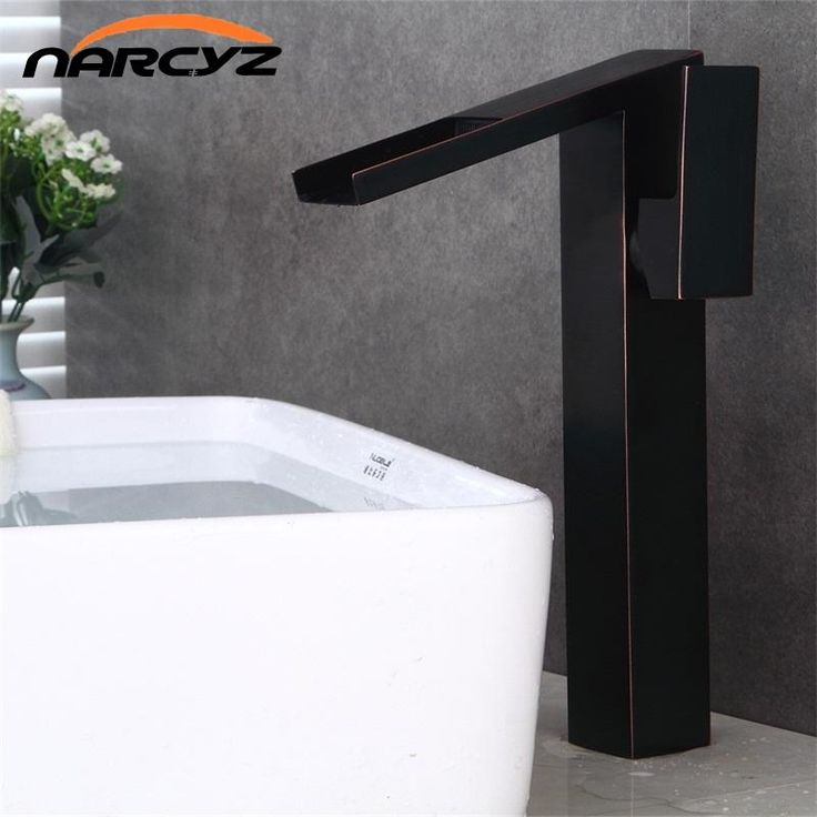 Bathroom high waterfall basin faucet tall stand basin mixer black oil brushed basin faucet sink Mixer Tap bathroom faucet  B503 - ICON2 Luxury Designer Fixures  Bathroom #high #waterfall #basin #faucet #tall #stand #basin #mixer #black #oil #brushed #basin #faucet #sink #Mixer #Tap #bathroom #faucet # #B503