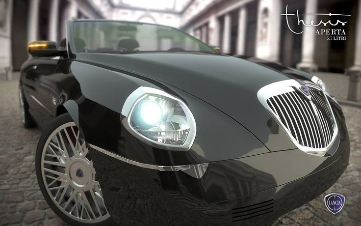 Dream Cars: Lancia Thesis Aperta 5.7 Litri #renderingmydreams #dreams #lancia #lanciathesis #thesia #regina #car #musclecar #fast #horsepower #super #whatisit #closeup #black #italia #power #speed #fake #myimagination #dontbelieve #c4d #cinema4d #render by andrejtroha
