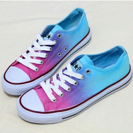 Zapatillas Pintadas A Mano ¡Súper Cool! #Moda