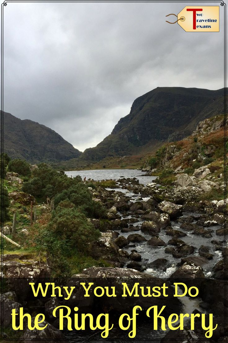 A travel blog with tips for the highlights that you must see when you do the scenic Ring of Kerry drive in western Ireland. via @2travelingtxns