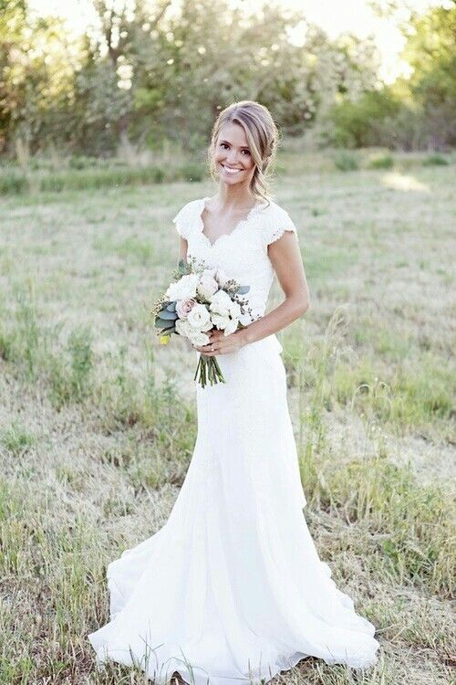 Simple Yet Stunning Wedding Dresses : Wedding dress on gypsy bad dresses and