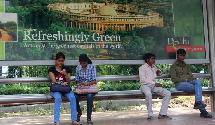 "New Delhi: ""Regreshingly Green"" - and it is actually true"