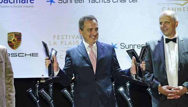 Azimut récompensé au Festival de la Plaisance de Cannes.